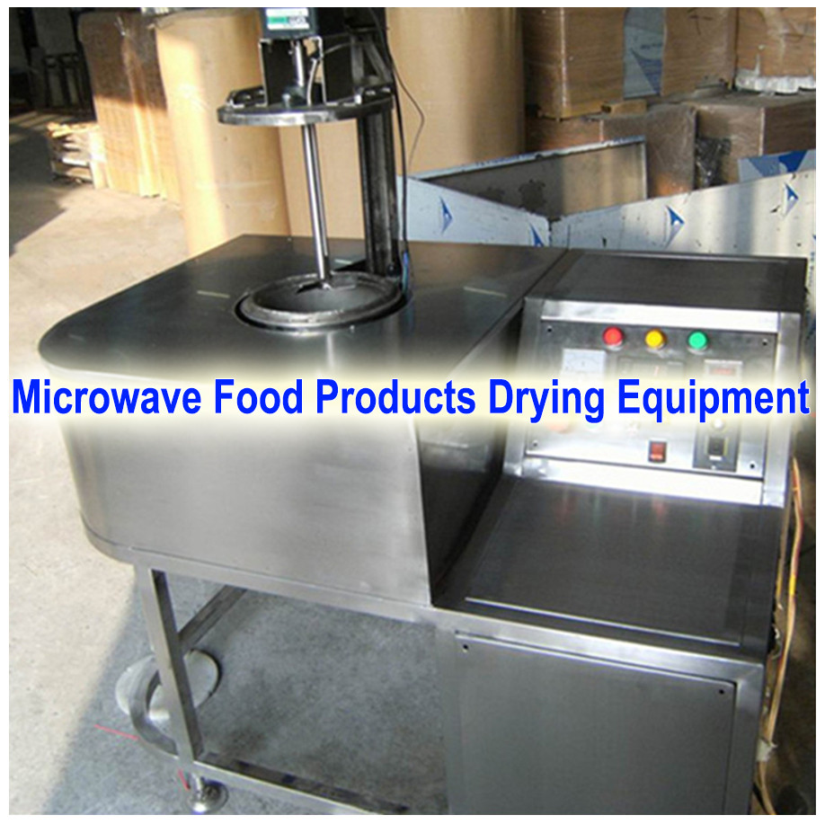 cassava modified starch continuous belt microwave drying machine / food microwave tunnel dryer
