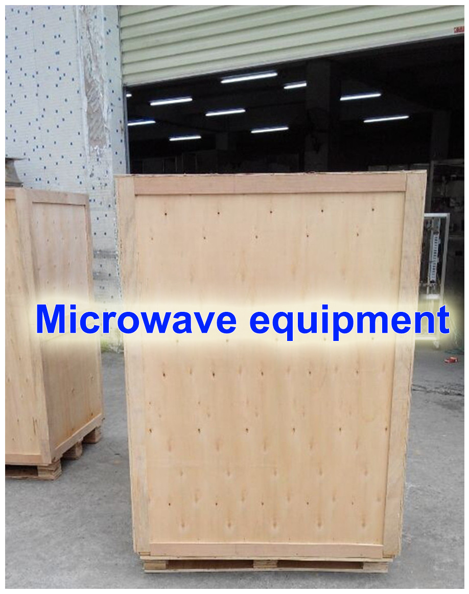 industrial tunnel dried peeled shrimp microwave drying equipment