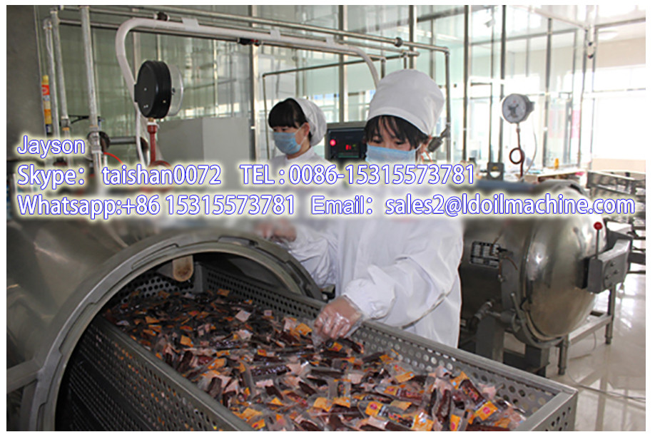 Guoxin automatic potato chips machine