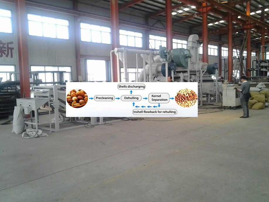Professional soybean dehulling machine