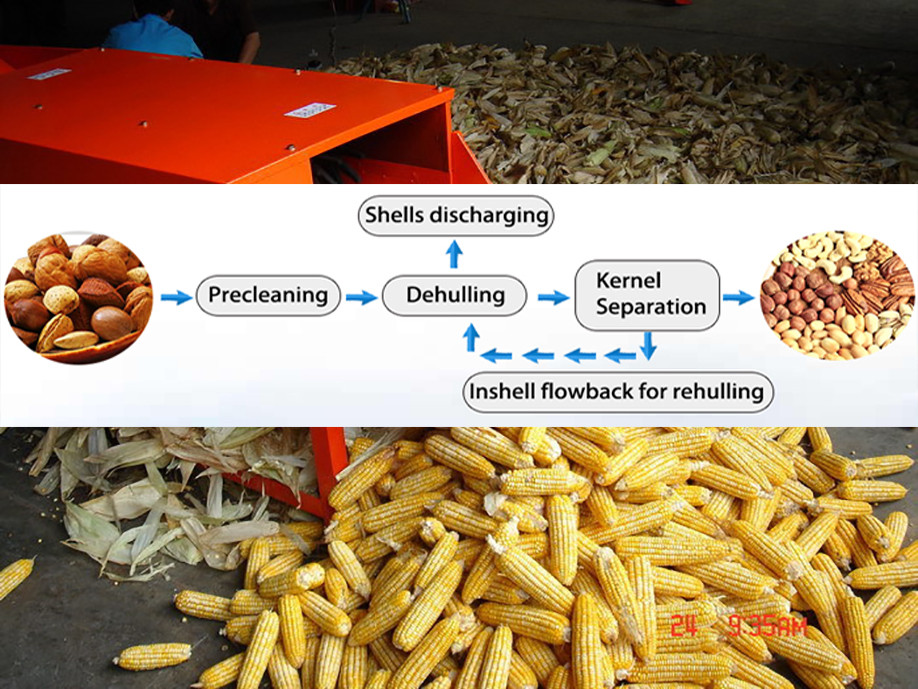 Stable Working Durable Sunflower Seed Hulling Machine