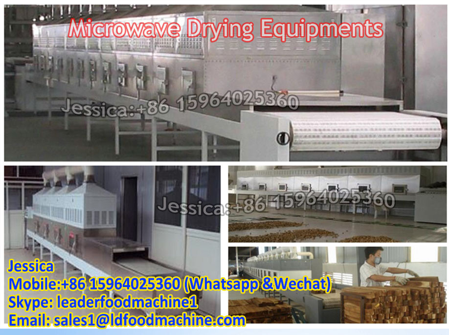 Hot sales tunnel microwave drying machine