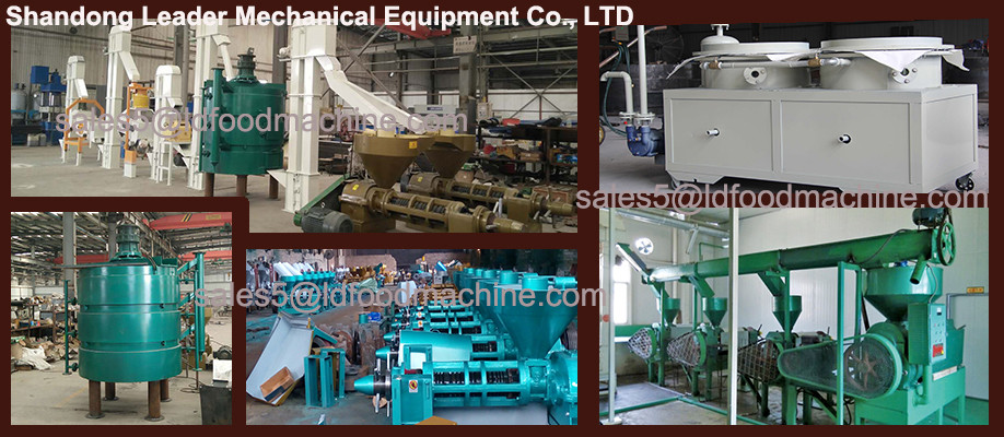 LD supplier hydraulic sunflower seed oil press machine
