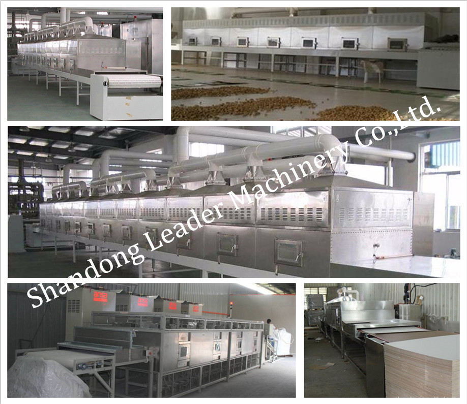 Big capacity dryer sterilization microwave oven for black tea
