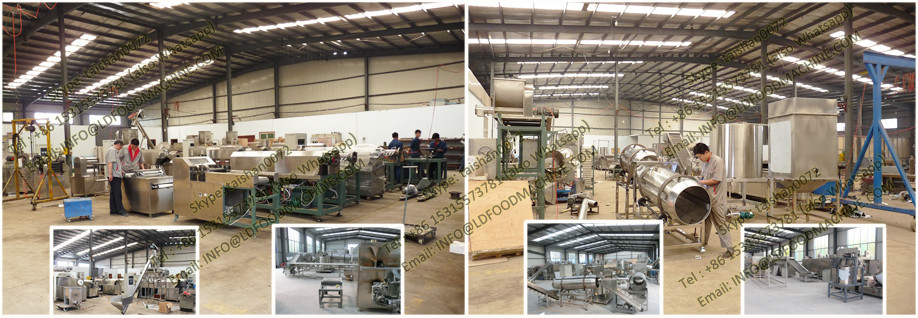 automatic corn modified starch extruder machinery processing line