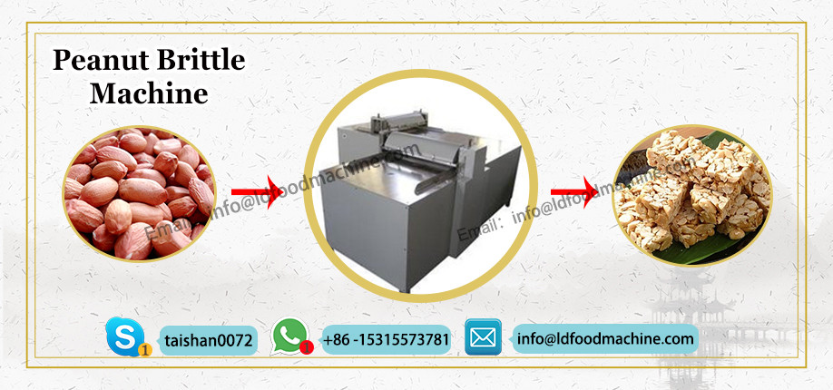 Reliable Supplier Sesame Granola Bar Production Line Nut Bar Maker Peanut Brittle MueLDi Enerable Bar make machinery