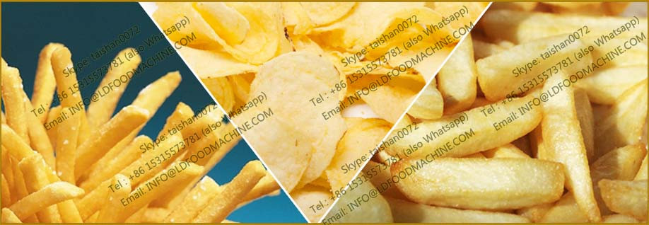 fully automatic potato chips processing plant