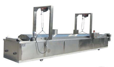 Semi-Automatic Frying Microwave Heating Machine