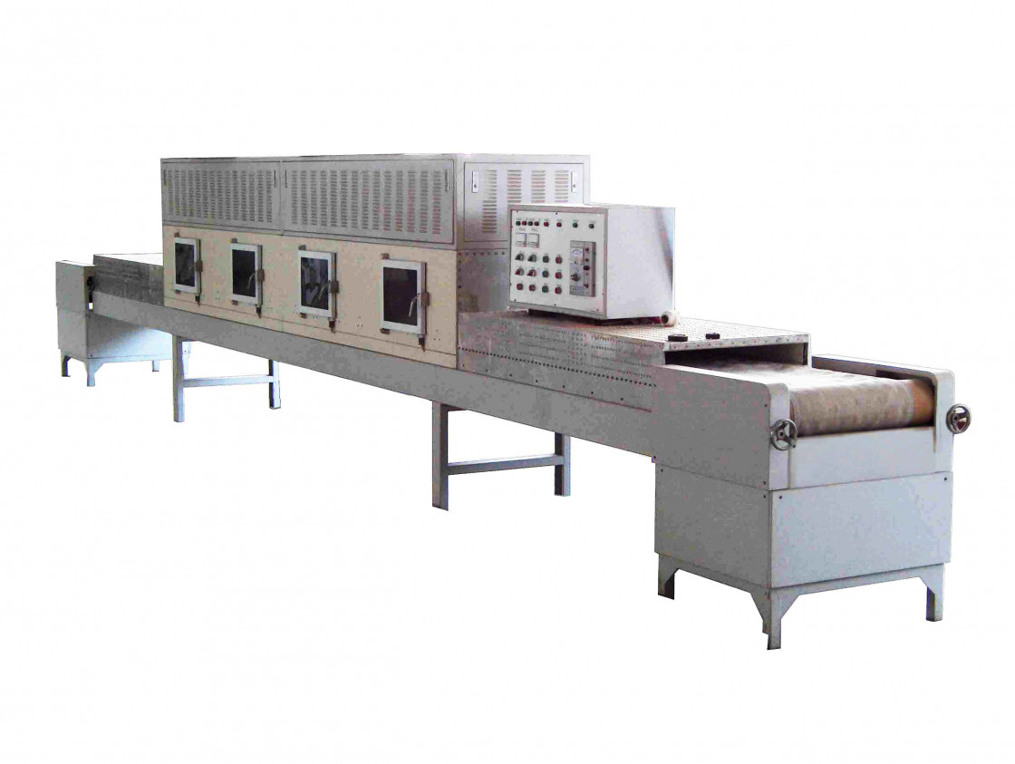 Conti Microwave Drying Machine