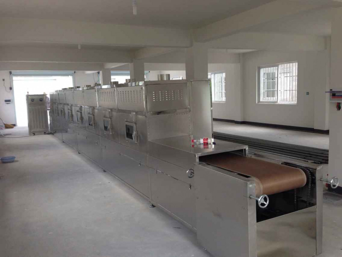 Tears Dehulling And Separating Microwave Drying Equipment