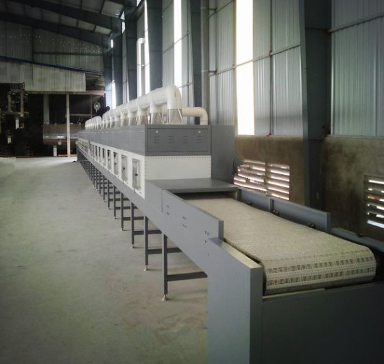 Industrial Conveying Mesh Belt Microwave Drying Machine