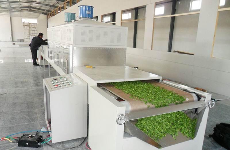 Tea Leaf Microwave Drying Machine