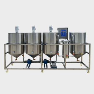 1-20TPD Small Scale Oil Refining Line