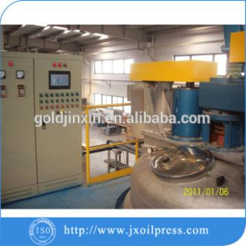 Plant for the production of sunflower oil/solvent extraction plant process
