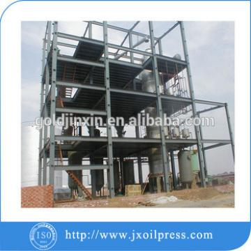Full continuous peanut oil refining process