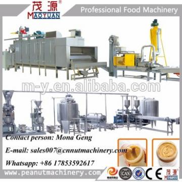Automatic Low Price Fully Automatic Peanut Butter Production Line Manufacturer/industrial Peanut Butter Making Machine