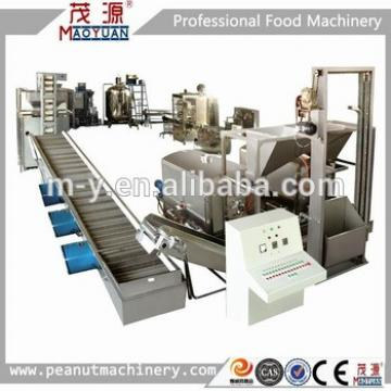 Peanut paste production line