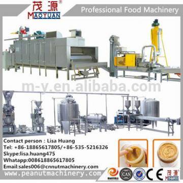 CE certificates after-sales service provided peanut butter production line