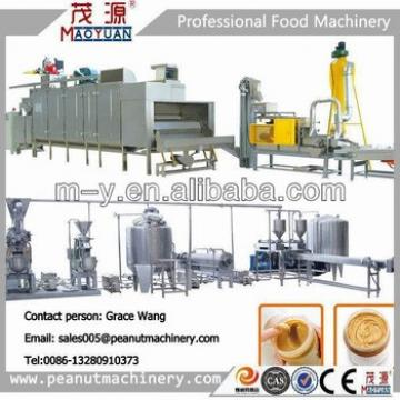 Complete peanut butter Making machines/Peanut butter processing line Manufacturer