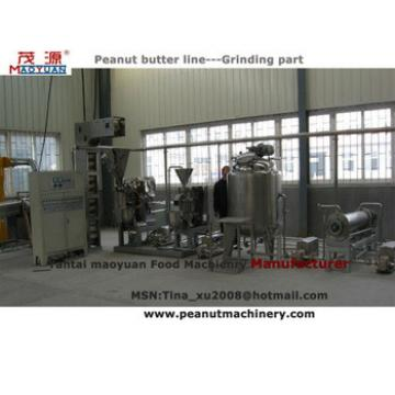 Natural Peanut butter production equipment (Manufacturer & supplier)