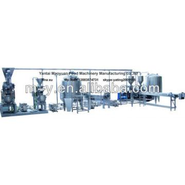peanut butter production line 400-500kg/h