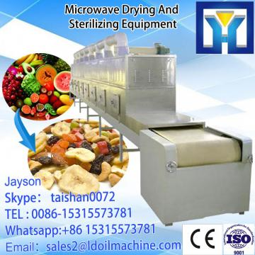tunnel type microwave green tea leafs processing machine