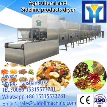 fast continuous beLD type nut roast machine