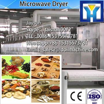CE certification Cuboid type microwave green tea leafs dryer