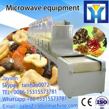 fixing of green tea through microwave/microwave tea leaves dryer machine