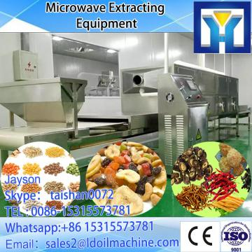 small tunnel microwave nut roaster/roasting machine
