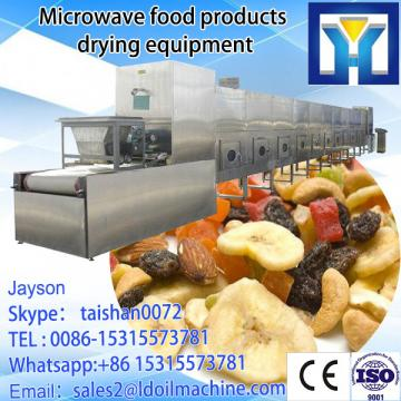 microwave fast drying equipment for natural peppermint leaf