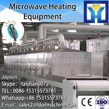microwave inudustrial tunnel microwave nut food roasting and sterilization machine