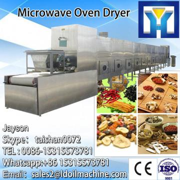 Stainless steel microwave peanut roaster and dryer machine
