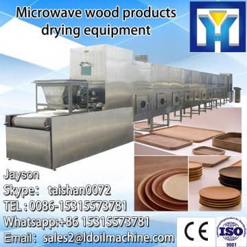 Industrial conveyor belt microwave drying machine for tea