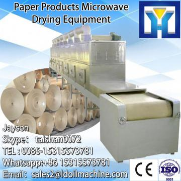 microwave tunnel organic green tea leaf drying machine /prcoessing machine