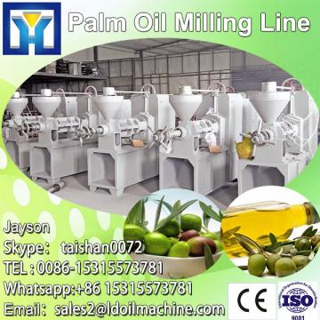 New design crude palm oil refinery plant
