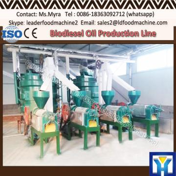 High yield peanut oil production line