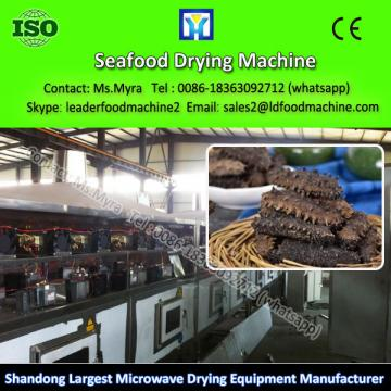 2016 microwave China factory supply batch type meat / fish drying machine with competitive price