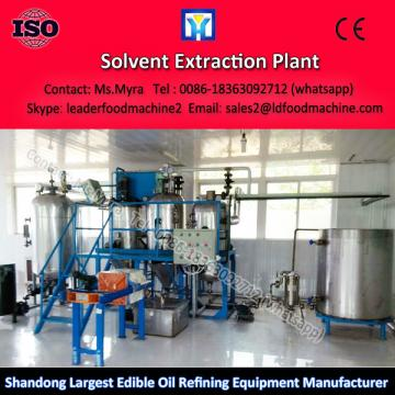 Easy operation crude soybean oil refinery