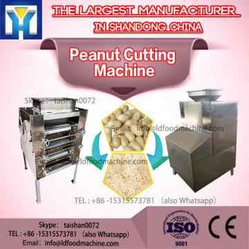 Stainless Steel Groundnut Strip Cutting Almond Cutter machinery Peanut Chopper machinery
