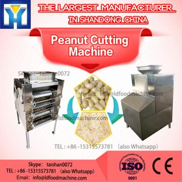 Automatic Groundnut Strip Cutting Peanut Almond Cutter Peanut Chopper machinery