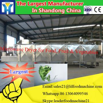 Industrial tunnel microwave drying machine for American basswood