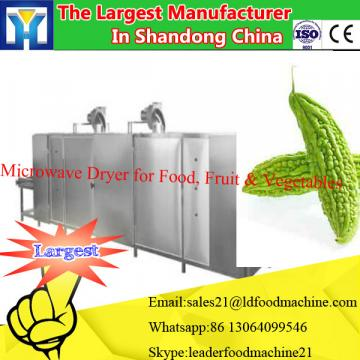 Microwave rice drying machine