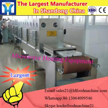 Microwave bagasse dryer
