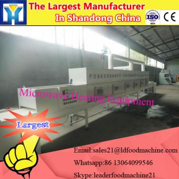 Industrial tunnel microwave drying machine for elm