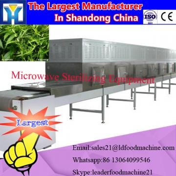 Microwave drying machine for drying rice