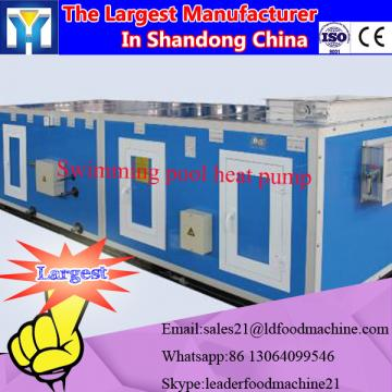 Low temperature microwave vacuum dryer for banana chips