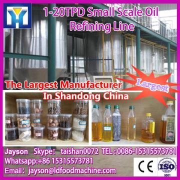 High working effciency with competitive price good quality mustard oil refining machine