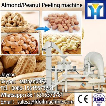 Dry peanut peeling machine for making peanut butter