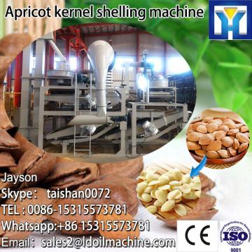 apricot shelling machine/almond seed separator/apricot almond flesh peeling separating